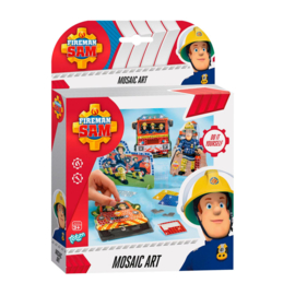Brandweerman Sam mozaïek set
