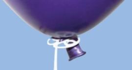 Ballonsluiter Qualatex  ø 3,4 cm. excl. lint en ballon 100 st.