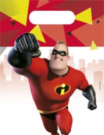 Disney The Incredibles 2 traktatiezakjes 6 st.
