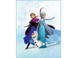 Frozen fleece deken Enjoy 110 x 140 cm.