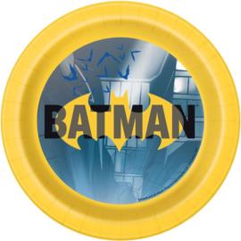 Batman gebakbordjes party ø 17,1 cm. 8 st.