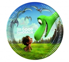 Disney The Good Dinosaur gebakbordjes ø 20 cm. 8 st.
