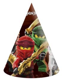 Lego Ninjago feesthoedjes 6 st.