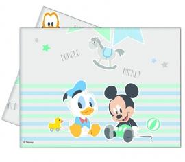 Disney Baby Mickey Mouse en Donald Duck tafelkleed 120 x 180 cm.