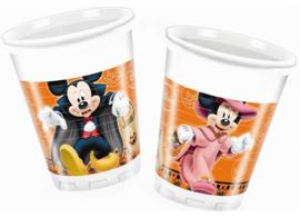 Disney Mickey Halloween bekertjes 8 st.