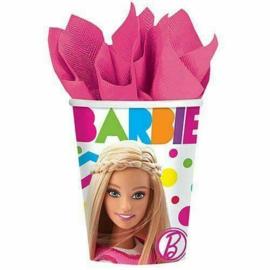 Barbie bekertjes Sparkle 250 ml. 8 st.