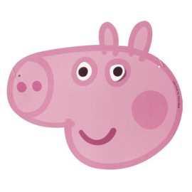 Peppa Pig maskers 6 st.