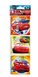 Disney Cars uitdeel notitieboekjes 3 st.