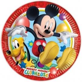 Disney Mickey Mouse gebakbordjes ø 20 cm. 8 st.