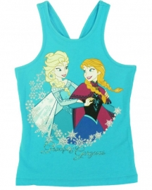 Disney Frozen Gracefull and Gorgeous singlet turquoise mt. 110