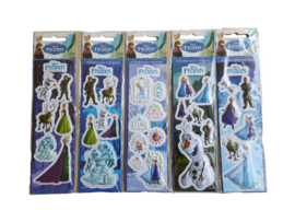 Disney Frozen 3D stickervel p/stuk