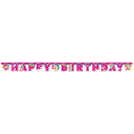 Barbie slinger happy birthday Dreamtopia 2 mtr. x H 15 cm.