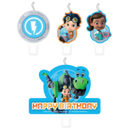 Rusty Rivets taart kaarsjes set