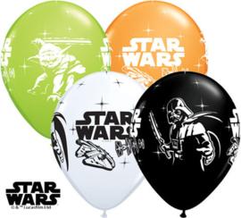 Star Wars ballonnen ø 30,48 cm. 6 st.