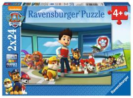 Paw Patrol puzzel Hulpvaardige Speurneuzen 2 x 24 stukjes