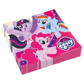 My Little Pony servetten 33 x 33 cm. 20 st.