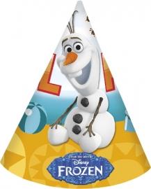 Disney Frozen Olaf feesthoedjes 6 st.