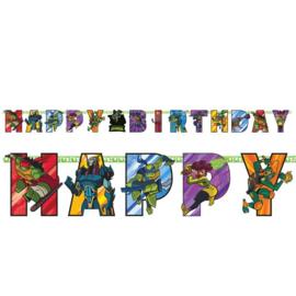 Ninja Turtles aanpasbare leeftijd letter slinger 3,2 mtr.