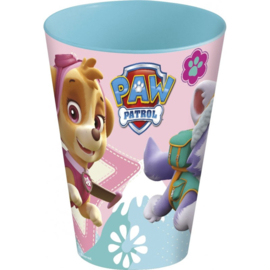 Paw Patrol Skye en Everest drinkbeker 260 ml.