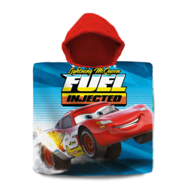 Disney Cars badponcho Fuel Injected 60 x 120 cm.