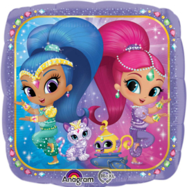 Shimmer and Shine folieballon 43 cm.