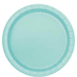 Mint groene feestartikelen