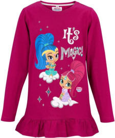 Shimmer and Shine longsleeve fuchsia mt. 92