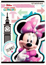 Disney Minnie Mouse lijntjes schrift A5