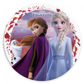Disney Frozen 2 bordjes ø 23 cm. 8 st.