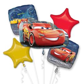 Disney Cars 3 folieballonnen boeket 5-delig