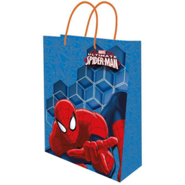 Spiderman luxe cadeau tasje 23 x 16 cm.