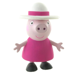 Peppa Pig oma taart topper decoratie 7 cm.