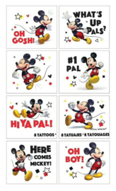 Disney Mickey Mouse tattoos