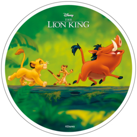 Disney The Lion King ouwel taart decoratie ø 21 cm. D