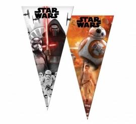 Star Wars Awakens snoep puntzak 20 x 40 cm. 6 st.