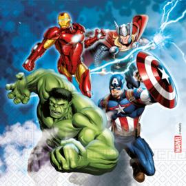 Avengers servetten Fight 33 x 33 cm. 20 st.