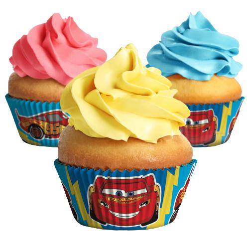 Disney Cars cupcake vormpjes 25 st.