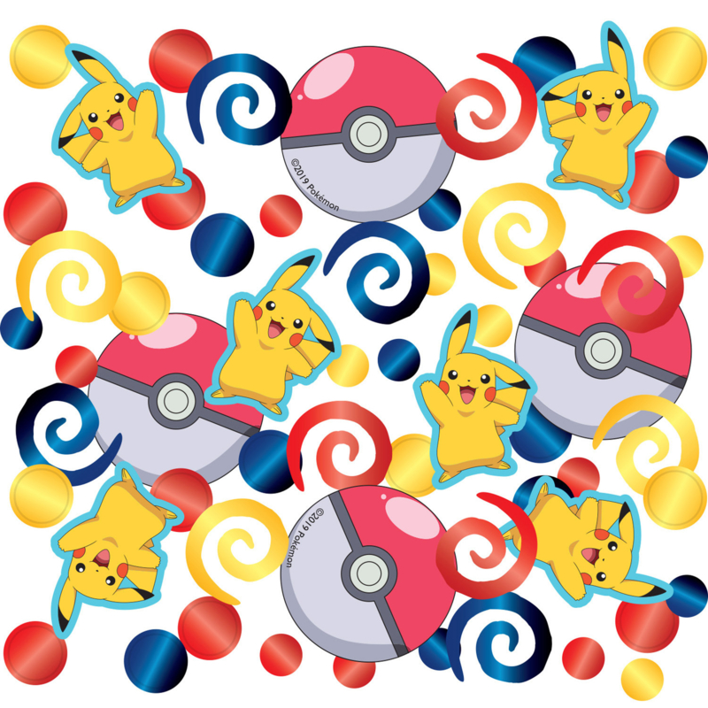 Pokémon confetti 14 gr.