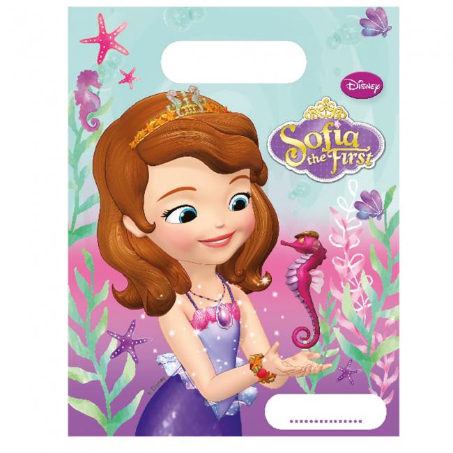 Disney Sofia the First Pearl of the Sea traktatiezakjes 6 st.