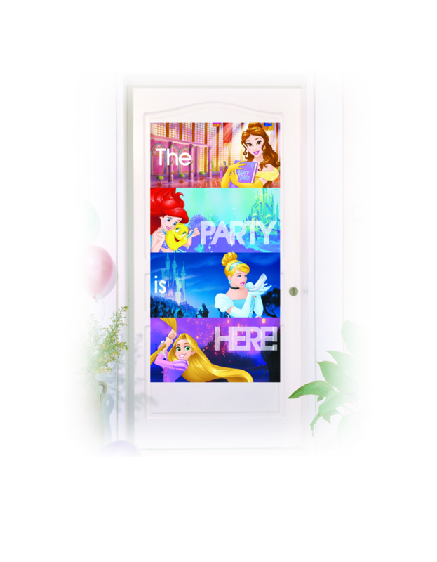 Goede Disney Princess feestartikelen   Magic Moments For Kids AA-26