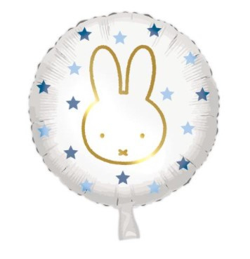 Baby Nijntje folieballon Boy ø 45 cm.