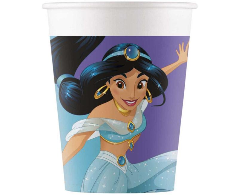 Disney Princess kartonnen bekertjes Day Dream 8 st.