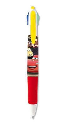 Disney Cars 4-kleuren pen