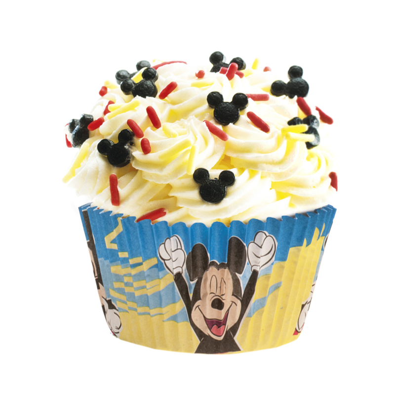 Disney Mickey Mouse cupcake vormpjes 25 st.