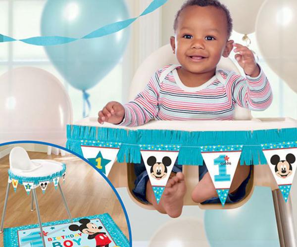 Eerste verjaardag jongen