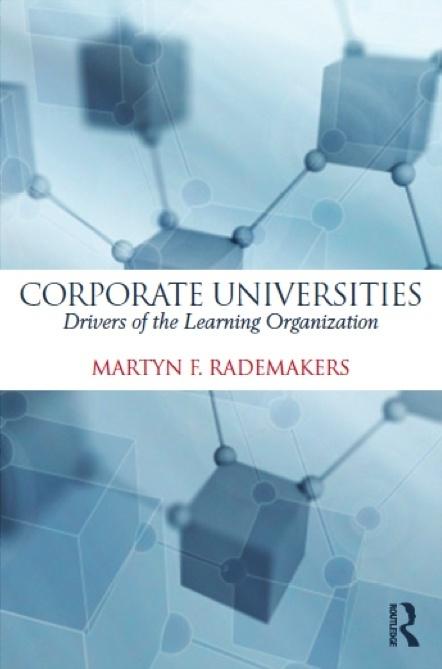 Corporate Universities, Rademakers - 9780415737708 - special price 37,20 euro