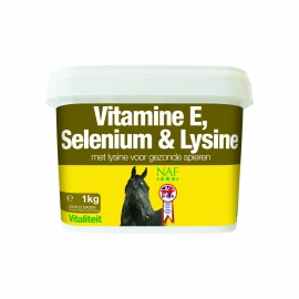NAF Vitamine E, Selenium & Lysine