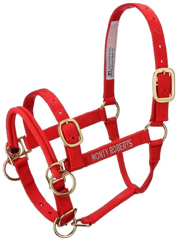 MONTY ROBERTS DUALLY TRAININGSHALSTER - ROOD