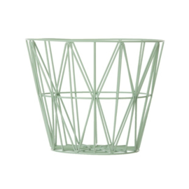 Wire basket / Opbergmand mint van Ferm Living