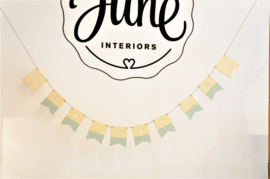 Naamslinger by June Interiors
